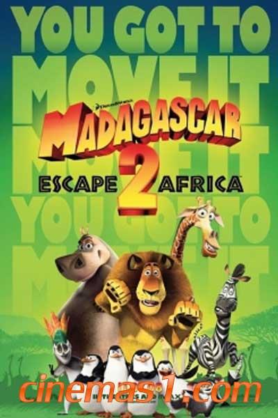 ดูการ์ตูนอนิเมะ มาดากัสการ์ ป่วนป่าแอฟริกา 2
