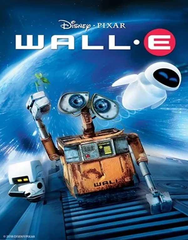 ดูการ์ตูน Wall-e (2008) หุ่นจิ๋วหัวใจเกินร้อย